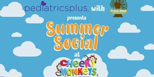 Summer Social at Cheeky Monkeys