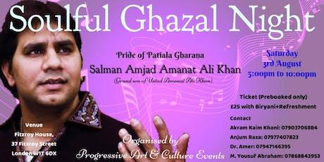 Soulful Ghazal Night tickets