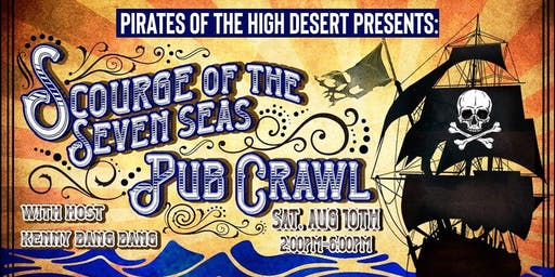 Scourge of the Seven Seas Pub Crawl
