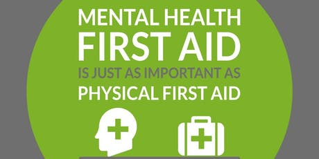 Mental Health First Aid (MHFA) 2 Day FIRST AIDER **IDEAL FOR THE WORKPLACE** tickets