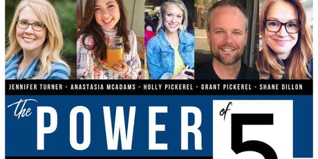 Power of Five: A Night of Inspiring Stories  tickets