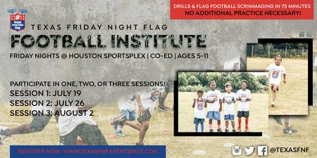Football Training Institute - July 19th Session tickets