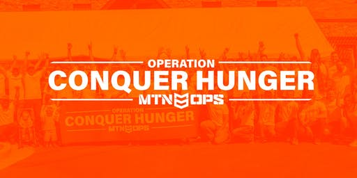 MTN OPS Conquer Hunger Event - Aug 6th, 2019