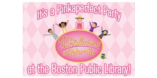 A Pinkaperfect Party at the Boston Public Library