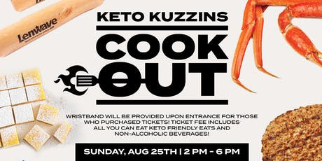 Keto Kuzzins Cookout tickets