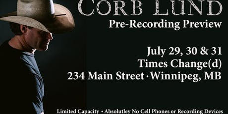 Corb Lund tickets