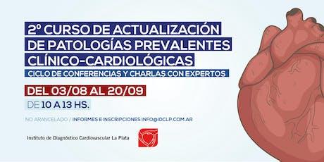 2º Curso de actualización de patologías clínico cardiologicas entradas
