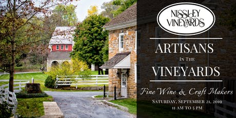 Artisans in the Vineyards tickets