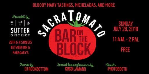 Sacratomato Bar on the Block