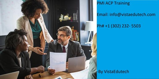 PMI-ACP Certification Training in Goldsboro, NC