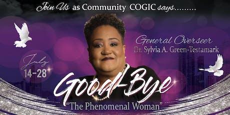 Dr. Sylvia Green-Testamark's Farewell Dinner tickets