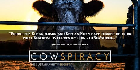 Movie Night at GreenFare: 'Cowspiracy' over dinner (two for 1 ticket) tickets
