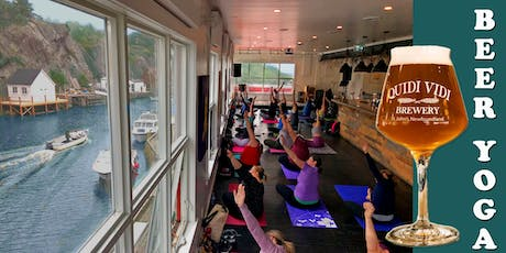Beer Yoga July 27 @ Quidi Vidi Brewery! tickets