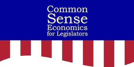 Common Sense Economics for Legislators Workshop tickets