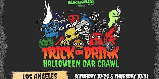 Trick or Drink: L.A. Halloween Bar Crawl (2 Days)