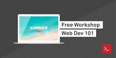 Web Dev 101 at HackerYou tickets