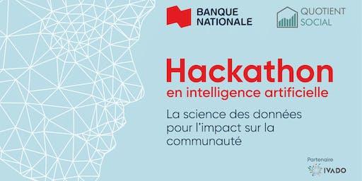 Hackathon: La science des données au service de la communauté