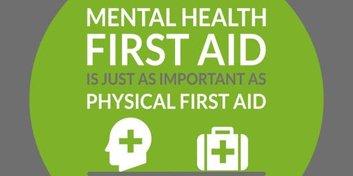 "Mental Health First Aid (MHFA) - One Day ""Champion"" **Ideal for the Workplace"