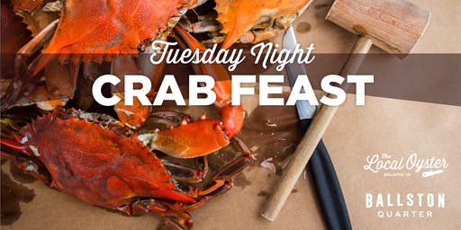 Tuesday Night Crab Feast!