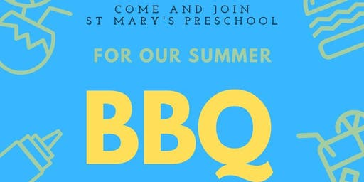 St Mary's Preschool Summer BBQ