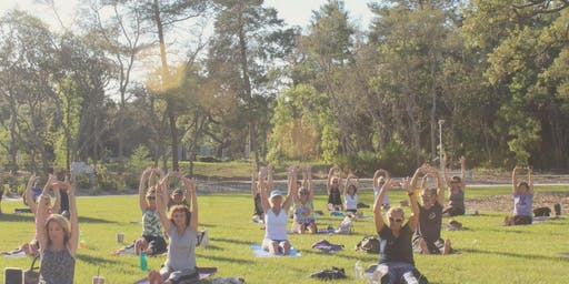 First Sunday Yoga on the Lawn