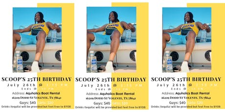 Scoops 25th Birthday  tickets
