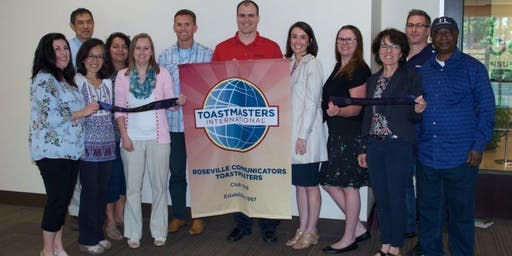 Roseville Communicators Toastmasters Open House