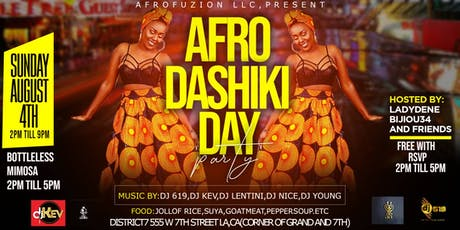 AFRODASHIKI DAY PARTY tickets