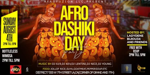 AFRODASHIKI DAY PARTY