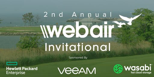 2nd Annual Webair Invitational Sponsored by Veeam, HPE, and Wasabi