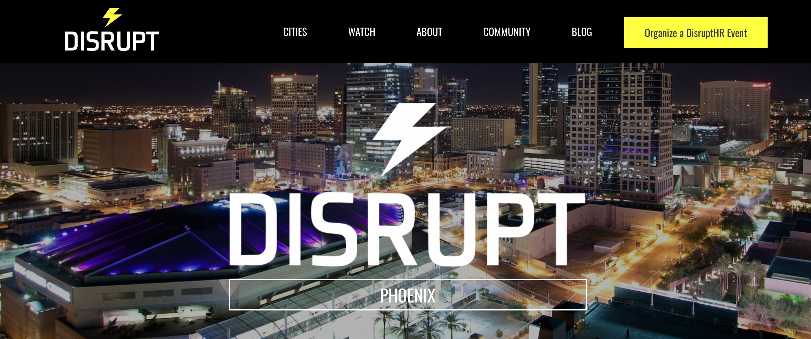 DisruptHR Phoenix 4.0