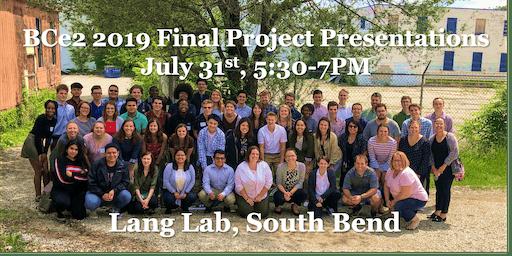 BCe2/We2 2019 Final Presentations