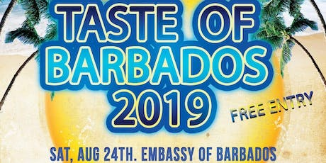 A Taste of Barbados 2019 tickets