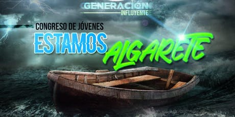 """Congreso de Jóvenes """"Estamos Algarete"""" tickets"""