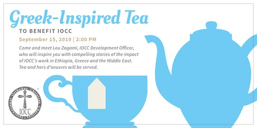 Greek-Inspired Afternoon Tea for IOCC