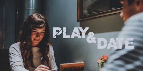 Play & Date (20-38 Jahre) - 3 Getränke inklusive Tickets