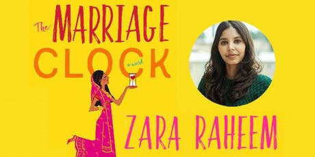 Creating Conversations Book Club ~  THE MARRIAGE CLOCK w/Author Zara Raheem tickets
