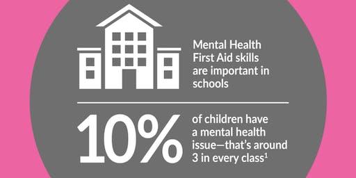 Youth Mental Health First Aid (YMHFA) - 2 Day