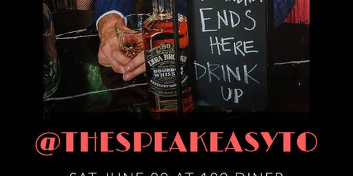 The Speakeasy (A Variety Show) At 120 Diner