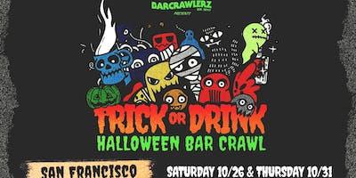 ***** or Drink: San Francisco Halloween Bar Crawl (2 Days)