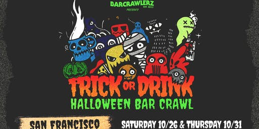 Trick or Drink: San Francisco Halloween Bar Crawl (2 Days)