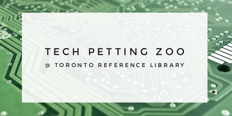 Tech Petting Zoo (2 Sessions) tickets