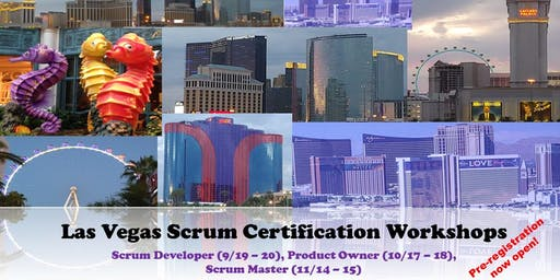 Scrum Master Certification Workshop