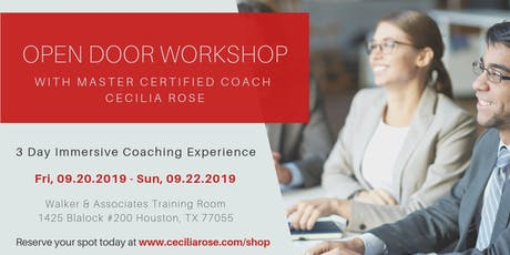 Open Doors to Success with Master Coach Cecilia Rose tickets
