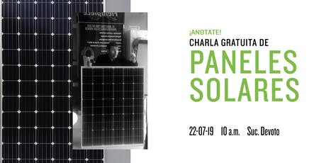 ¿Querés aprender sobre paneles solares y cómo instalarlos? tickets