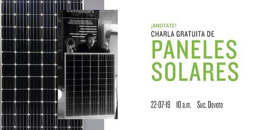 ¿Querés aprender sobre paneles solares y cómo instalarlos?