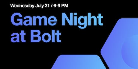 Bolt Game Night tickets