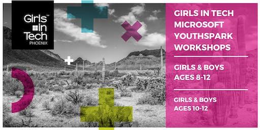 Girls in Tech - Microsoft YouthSpark - Girls & Boys 10-12