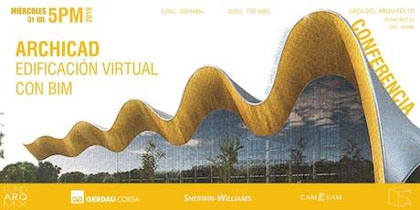 Edificación Virtual con BIM - Archicad entradas