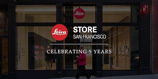 Leica Store San Francisco 5 Year Celebration Reception